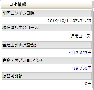 2019年10月11日(金)08時45分